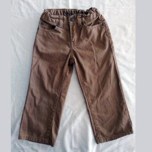 NAUTICA  2 Toddler Tan Brown Jean Pants